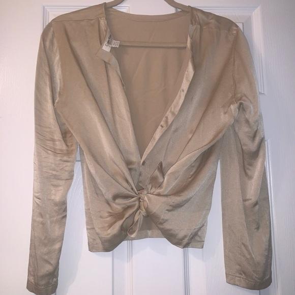 Calvin Klein Tops - Silk Calvin Klein shirt